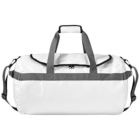 4f5ad83123 Waterproof Holdall White Duffle Drybag Luggage for Camping and Sailing   Amazon.co.uk  Luggage