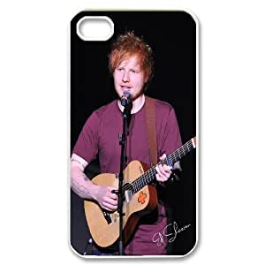 [MEIYING DIY CASE] For Iphone 4 4S case cover -Singer Ed Sheeran-IKAI0448264