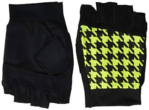 Canari Cyclewear Men's Printed Glove, Houndstooth Aurora, Large