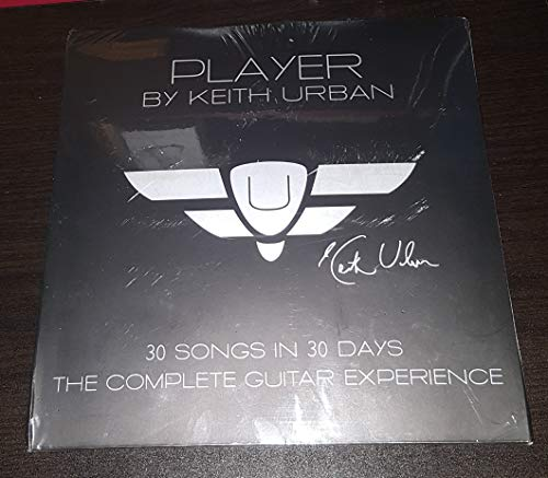 Player by Keith Urban 30 Songs in 30 Days: The Complete Guitar Experience 30-disc DVD lesson set