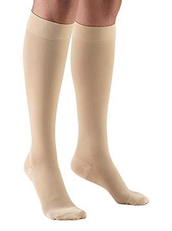 d2039d9fb22 Tektrum (1 pair) Knee High Firm Graduated Compression Socks Stockings 23- 32mmHg for