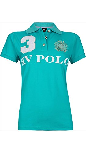 HV POLO Polo Shirt Favouritas EQ SS, XS   Aqua