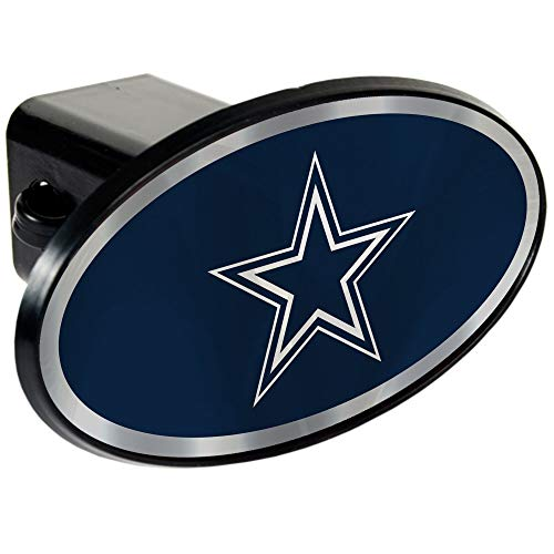 "NFL Dallas Cowboys NFL Pittsburgh Steelers Tow Hitch Cover Plug w/pin for Car-Truck-SUV 2"" Receiver"