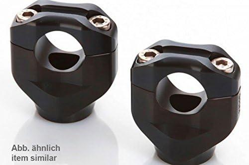 schwarz LSL X-Bar Klemmb/öcke Yamaha MT-10