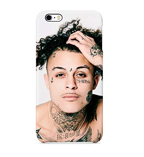 Lil Skies Face Tattoo Rapper Case for iPhone 6 Plus, iPhone 6 Plus Hard Cover, Celebrity Fan Merchandise iPhone6plus, -