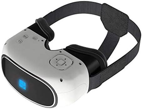 バーチャルリアリティのメガネ3D, オールインワンバーチャルインテリジェント3dメガネヘッドマウント調節可能ボタンパノラマデバイス。