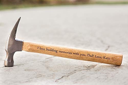 Personalized Dad Gifts Personalized Engraved Hammer Father's Day Gift Deal (Large Image)