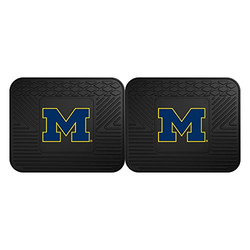 FANMATS 12288 University of Michigan Utility Mat - 2 (Michigan Floor)