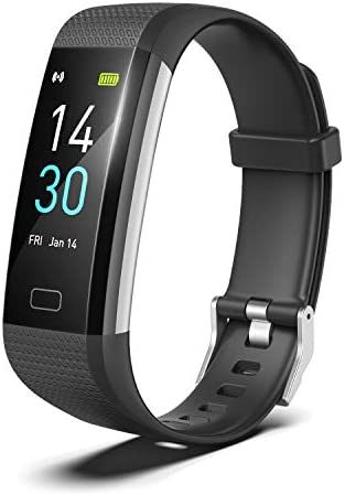 RRLOM Fitness Tracker, Smart Watch with Blood Pressure Monitor, Heart Rate Monitor, Body Temperature, Sleep Tracker, Pedometer, Activity Tracker for Women Man iPhone Android 1