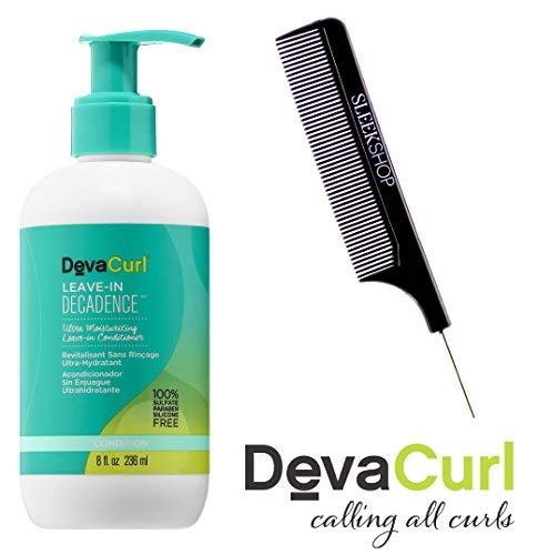 DevaCurl LEAVE-IN DECADENCE Ultra Moisturizing LEAVE IN CONDITIONER (Stylist KIT) (8 ounce / 236 ml) - Hair Diva Care