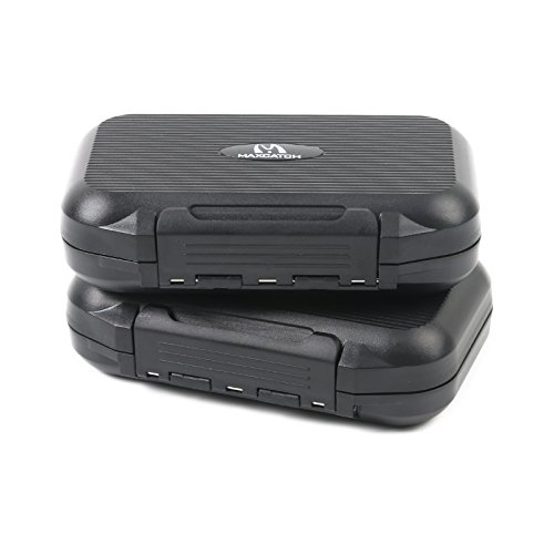 M MAXIMUMCATCH Maxcatch OR Fly Box Waterproof Portable Design Fly Fishing Box Flies Case(Easy Grip, Slit Foam)(Combination(Slit & Easy Grip Foam))