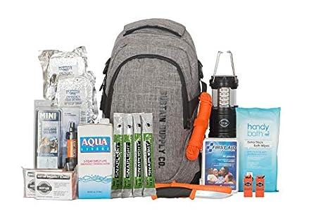 Sustain Supply Co. Essential 2-Person Bolsa de supervivencia ...