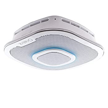 Image of Alexa Enabled Smoke Detector and Carbon Monoxide Detector Alarm with Premium Home Speaker   Onelink Safe & Sound by First Alert Combination Smoke & Carbon Monoxide Detectors