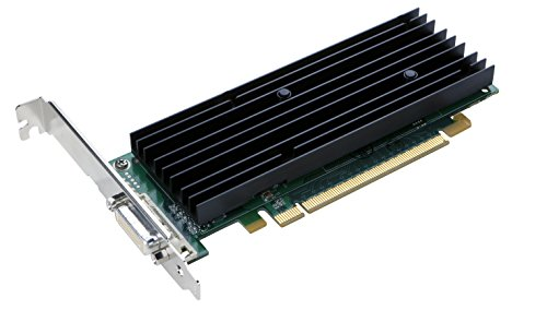 PNY NVIDIA Quadro NVS 290 by 256MB DDR2 PCI Express x16 DMS-59 to Dual DVI-I SL or VGA Profesional Business Graphics Board, (Vga Nvidia Quadro)