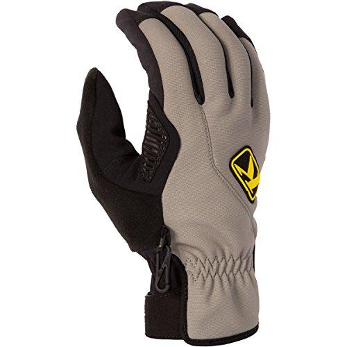 KLIM Inversion Men's Ski Snowmobile Gloves - Gray / 2X-Large