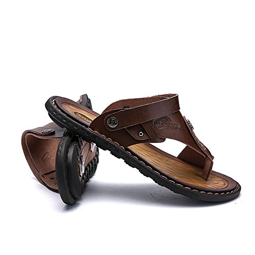 Hombre kaqi Tamaño Gran Sandalias De GSHE Zapatillas Para Verano Shoes Chanclas De Zapatillas Playa Antideslizantes De FxOqtZgw