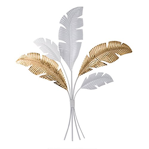 A&B Home Group Metal Feather Wall Decor 26x31.5