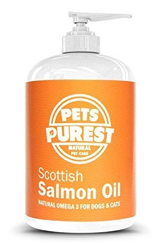 Pets Purest Scottish Salmon Oil For Dogs, Cats, Horses,...