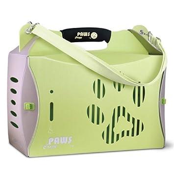 Crazy Paws ECO Pet Carrier, V2, Small, Green