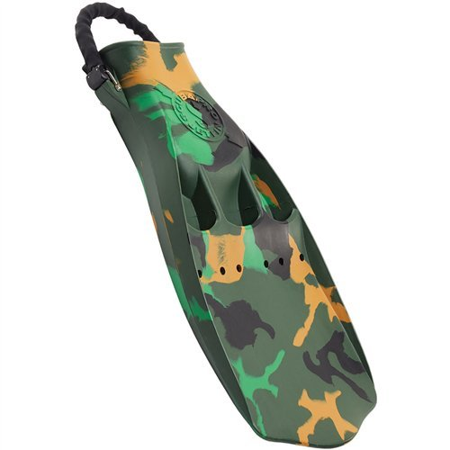ScubaPro Jet Fins With Spring Strap (2X-Large, Camo)