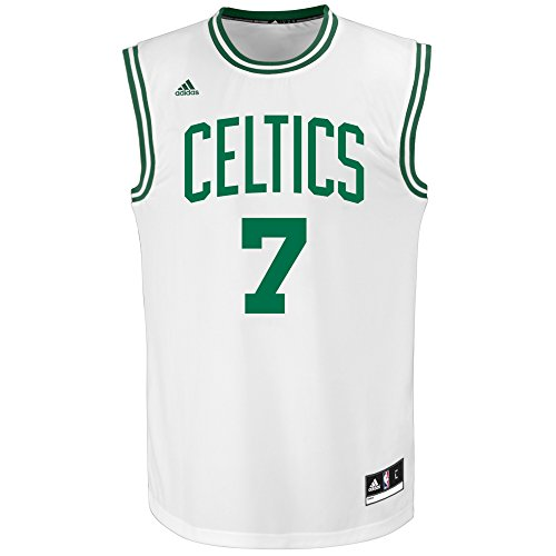 NBA Men's Boston Celtics George Hill Replica Player Road Jersey, X-Large, White