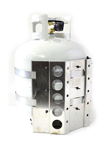 dual propane tank holder - 7