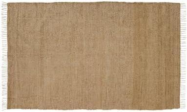 VHC Brands Burlap Natural Chindi Rag Rug, 4 x 6