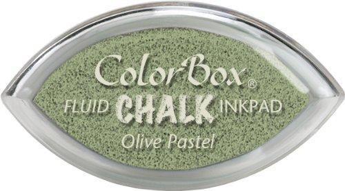 (CLEARSNAP Fluid Chalk Cat's Eye Inkpad, Olive Pastel)