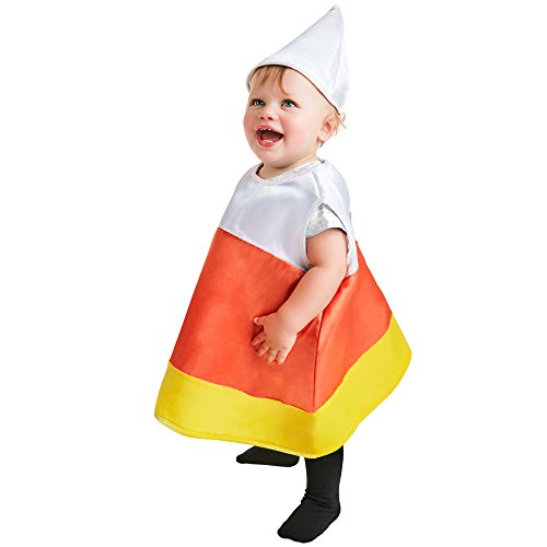 Baby Candy Corn Halloween Costume (Size: 6-12M) -