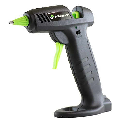 Cordless Glue Gun (Surebonder Hybrid-20F Mini Cordless/Corded High Temperature Glue Gun-For Cordless Use the Gun Requires 4 AA Batteries (not included))