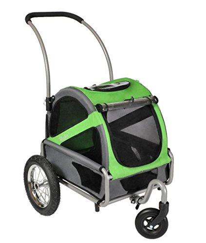 Cheap DoggyRide Mini Dog Stroller, Spring Green/Grey