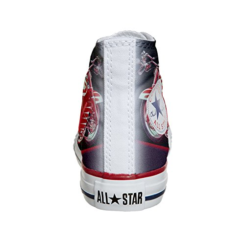 Converse Customized Chaussures Coutume (produit artisanal) moto