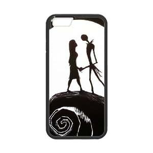 iphone6 4.7 inch Black phone case Classic Style Disney Cartoon Nightmare Before Christmas OBN8928399
