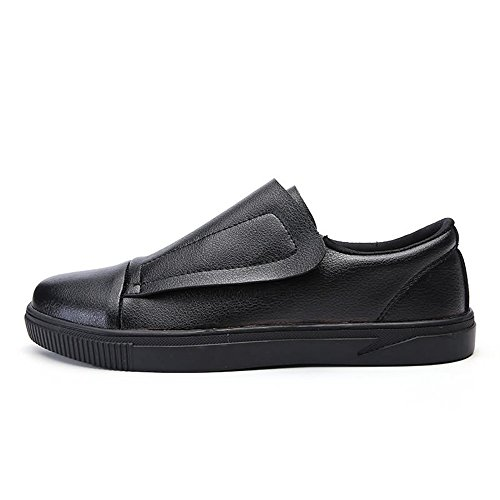 The 39 Para Loafer Patineta Recreativa De color Hombre Eu Shoe Negro Pedals Build 2018 Pedal Moda Tamaño Un Zapatos 100 Hombres Mocasines White And Yajie shoes Tide Black xCwq77