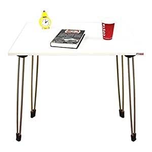 Need Folding Computer Desk 80cm Writing Table for Small Spaces Narrow Desk White AC4DW