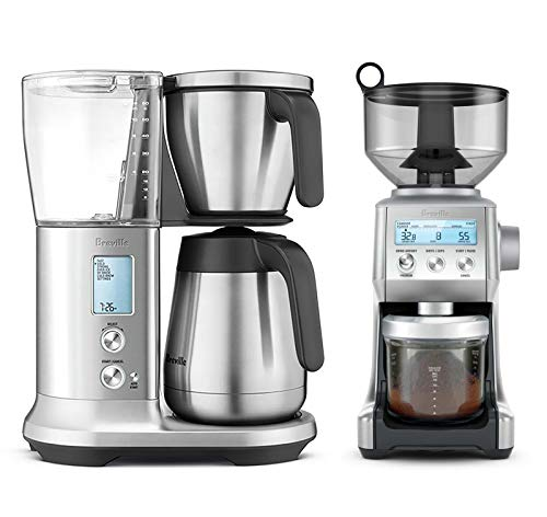 Breville BDC450BSS The Precision Brewer Thermal Bundle with Breville BCG820BSS Smart Grinder Pro - Stainless Steel
