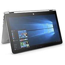 "HP ENVY x360 2-in-1 Laptop - 15.6"" Full HD Touch, Intel Core i7-8550U, 8GB RAM, 256GB SSD, Windows 10, Silver - 15-aq210nr"