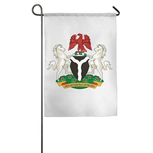 Nigeria Premium Home Garden Flags 100% Polyester 1218,1827 Inch Foot ()
