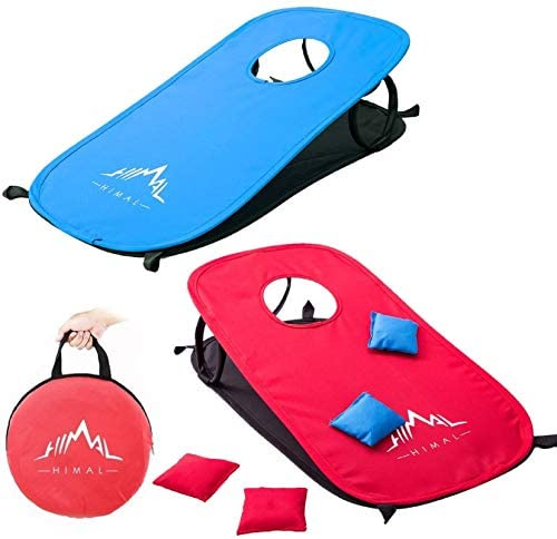 Himal Collapsible Portable Cornhole Game Boards...