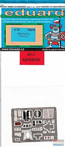 Edu73515 1:72 Eduard Color Pe - F4u-1a Corsair Detail Set (for Use With The (Corsair Colors F4u)