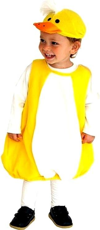 Disfraz de pollito - color amarillo - disfraces para niños ...