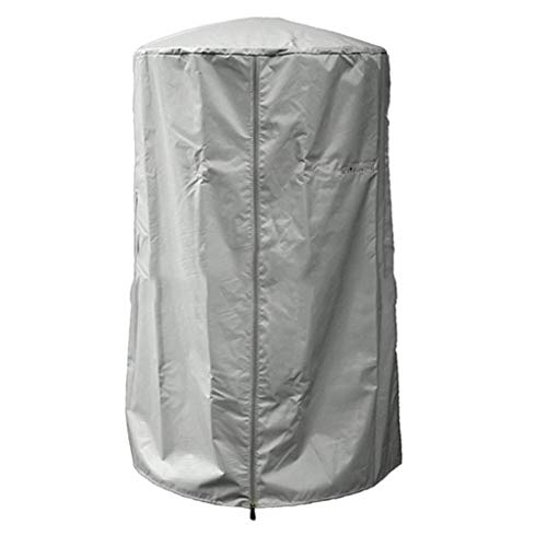 Outdoor Waterproof Sunscreen Rain Heater Dust Cover 190 Coated Silver Polyester Taffeta Gray, 6196.5cm (Color : D, Size : 6196.5cm)