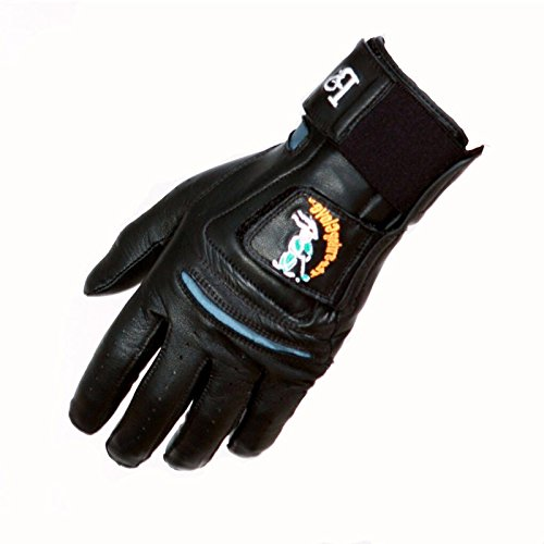 (Swing Glove Black Left Best Golf Training Aid/Play All Men's Sizes)
