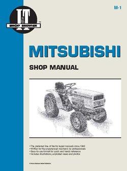 Mitsubishi MT210D Tractor Service Manual (IT Shop) by Jensales