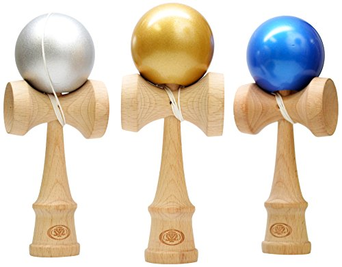 Yomegas Kendama Pro metallic color assortment product image