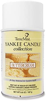 Timemist Yankee Candle Air Freshener Refill Buttercream 6 6 Ounce Aerosol Can 81 2200tmca Automotive Air Fresheners Office Products Amazon Com