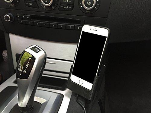 Auto Dock supporto per Apple iPhone 7con originale Apple iPhone Case, Con Cavo Lightning (individualmente 3d stampata)