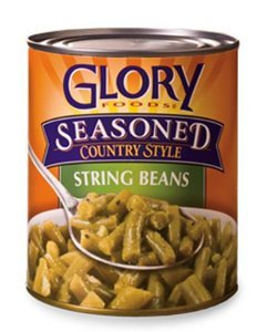 Glory Foods String Beans 27-Ounce (12 Pack)