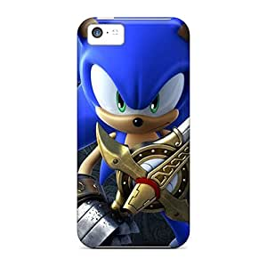 Iphone 5c BzX4460lrKf Customized High-definition Sonic 3d Hd Pattern Protector Hard Phone Cover -SherriFakhry