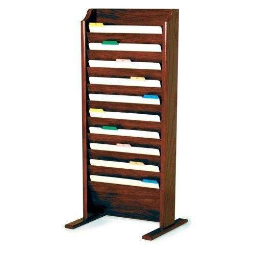 Wooden Mallet CH17-FS-MH Free-Standing File Holder